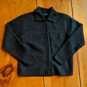 LIKE NEW Karen Scott Pure Wool Cardigan Small